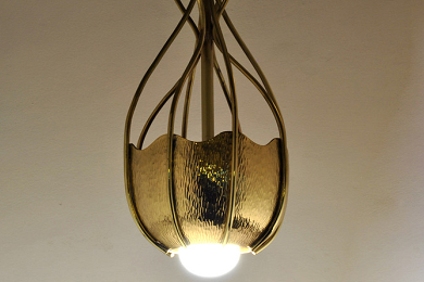 Jelly fish lamp