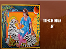 Tigers in indian art small banner image
