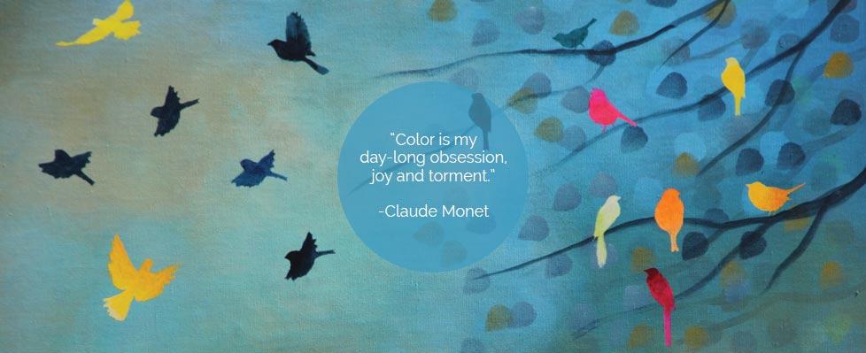 Breathing colours Exhibition on Mojarto