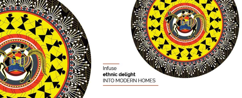 Tribal Twist Exhibition on Mojarto