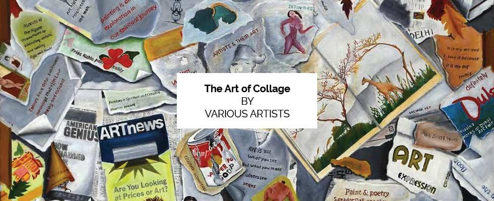 The Art of Collage Exhibition on Mojarto