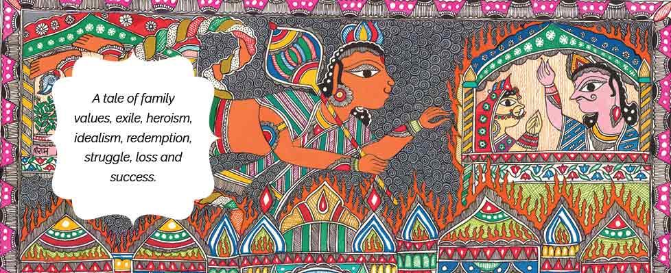 An Epic Of Thousand Lines…. Madhubani's Ramayana Exhibition on Mojarto