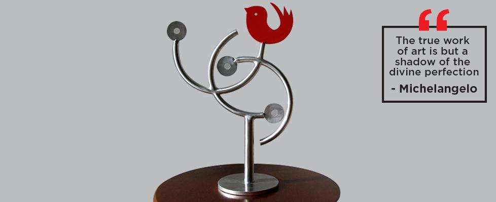 Metallic Expressions Exhibition on Mojarto