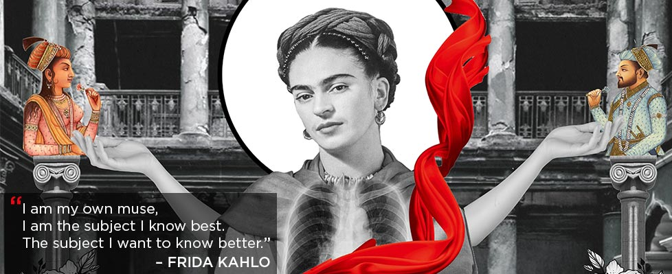 Re-Imagining Frida Exhibition on Mojarto