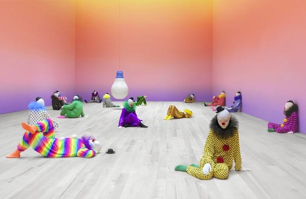 Ugo Rondinone, Vocabulary of Solitude, 2016, Image Courtesy of the artist. Image Credit: Stefan Altenburger. Image Courtesy of Palais de Tokyo, Paris.