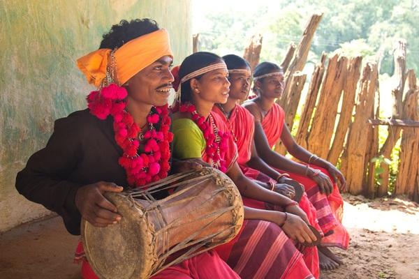 Ghotul inhabitants from Kondagaon. Image Courtesy of Supriya Sehgal.