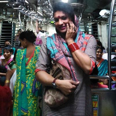 Image result for tamil transgender on train