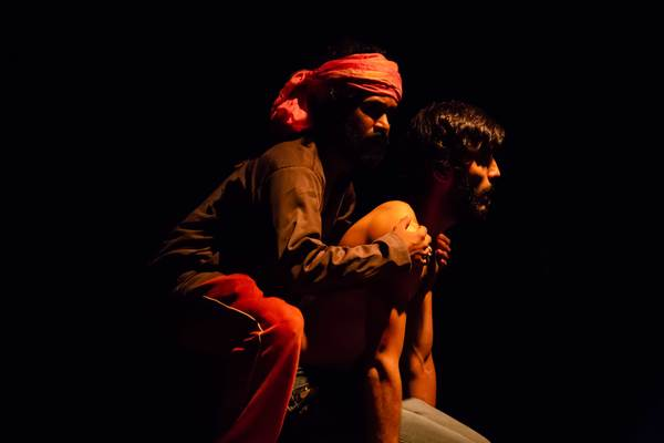 Images from the play In Search of Dariya Sagar, staged at the Hindu Theatre Festival, Chennai. Image Courtesy of The Blind and the Elephant.