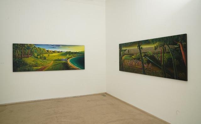 Installation View III, Vinod Balak 'Tomorrow's Land' at Galerie Mirchandani + Steinruecke, 2020
