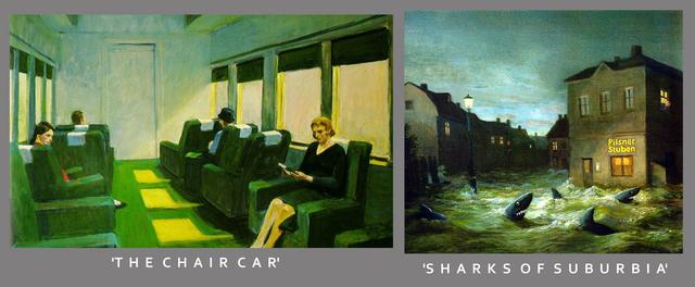 'The Chair Car' 'Sharks Of Suburbia'