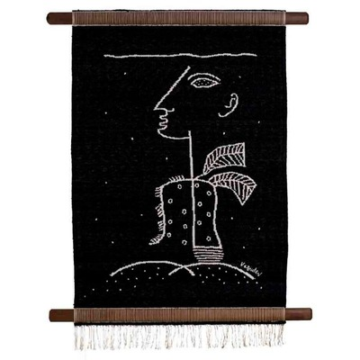 S. G. Vasudev, Theatre of Life, Tapestry, 43ʺ x 29ʺ.