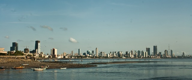 Mumbai skyline, cityscape