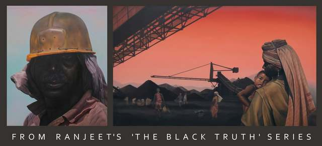 From Ranjit's ' The Black Truth' Series