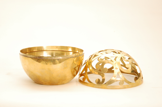 Sandook sphere bowl n vase br %283%29
