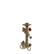 Berries & Vine Candleholder: Small Candle Stand By The Yellow Door