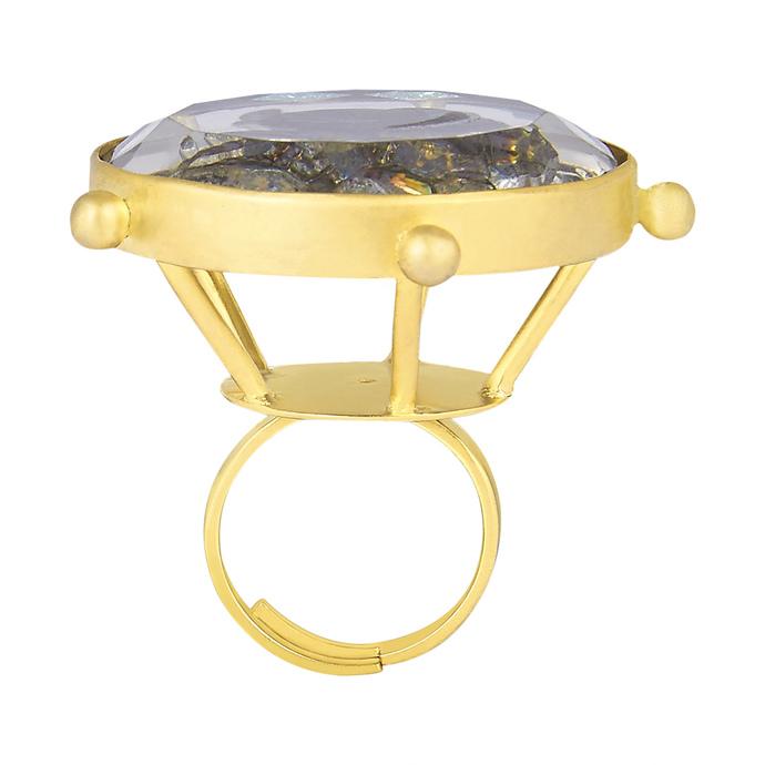 GUHYAKALI by Chiria , Art Jewellery, Contemporary Ring
