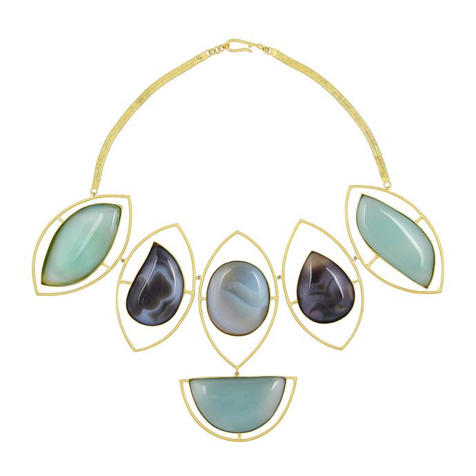 TRILOCHANA by Chiria , Art Jewellery, Contemporary Necklace