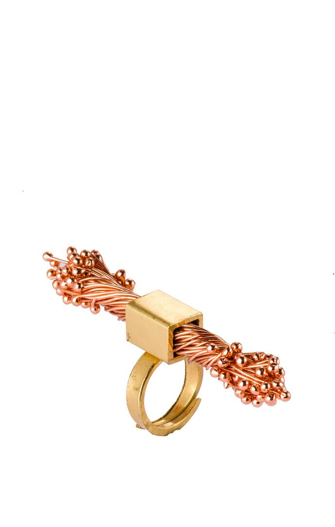 Flora Cube 2 by Studio Kassa, Art Jewellery, Contemporary Ring