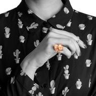 Nugget 1-Copper by Studio Kassa, Art Jewellery, Contemporary Ring