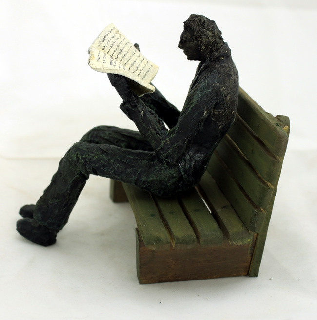 Man reading 1a