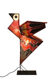 Kite Bird Lamp Floor Lamp By Sahil & Sarthak