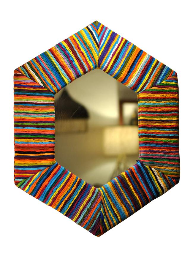 Hexagonal mirrror by sahil   sarthak2