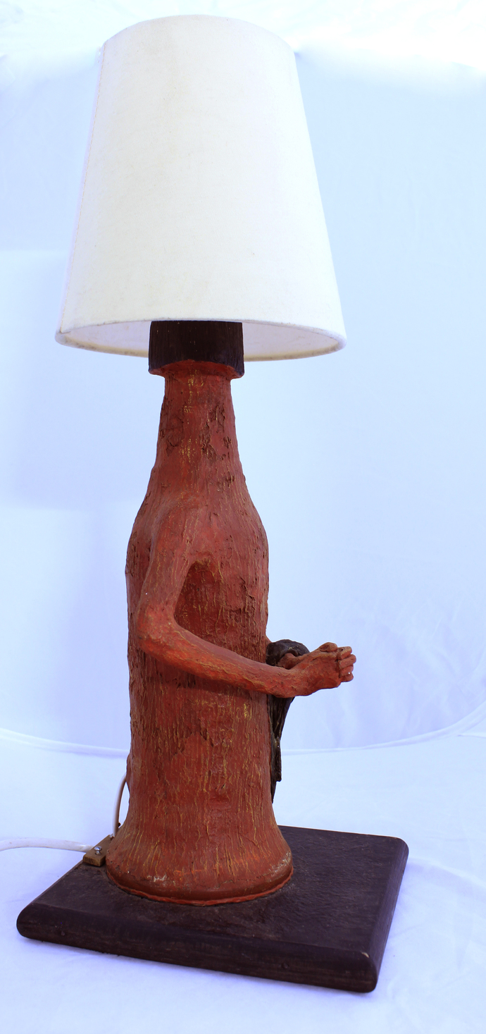 Up-cycled Bottle Lamp Table Lamp By Aranya Earthcraft