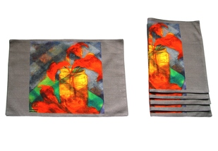 Shubha Gokhale Table Mats Table Linen Set By indian-colours
