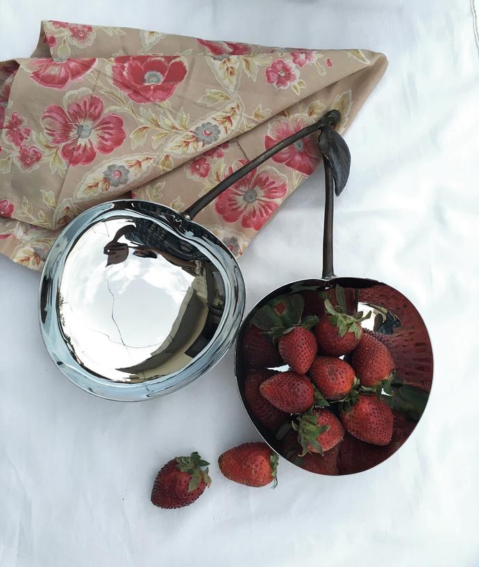 Cherry Double Dish Bowl By Mudita Mull