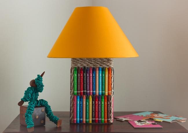 Crayon lamp