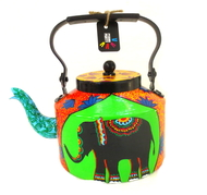 Limited Edition kettle- Elephant Tales1 Serveware By Pyjama Party Studio