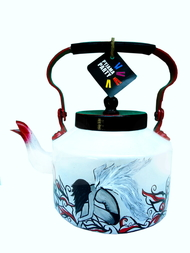 Limited Edition kettle- Fallen Angel Serveware By Pyjama Party Studio