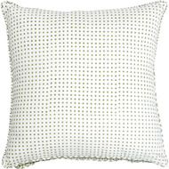 IKKA DUKKA HAND BLOCKED GREEN CUSHION COVER Cushion Cover By Ikka Dukka Studio Pvt Ltd