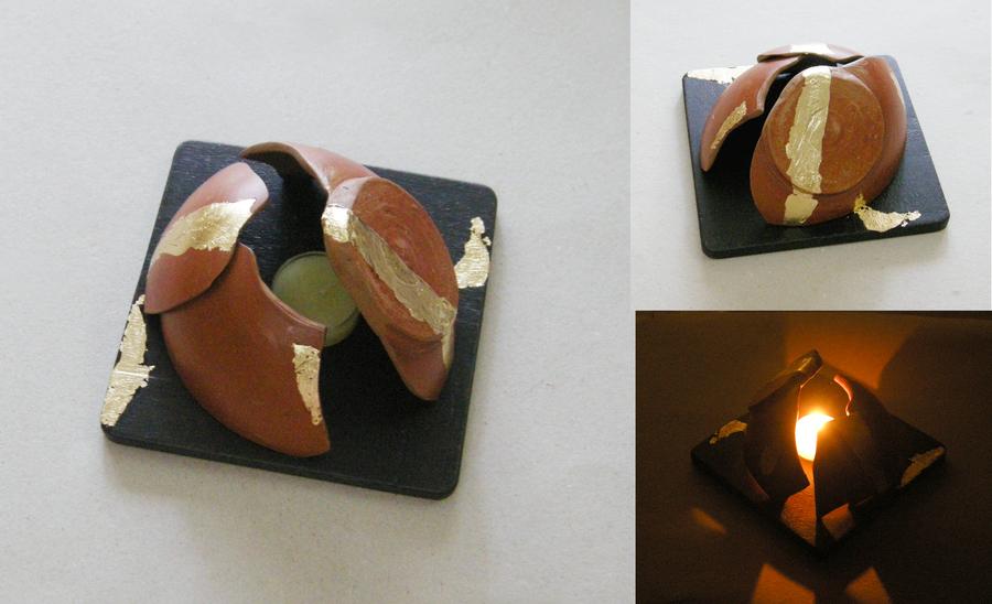 Matka Tea-light holder T-Light and Votive Holder By obliq