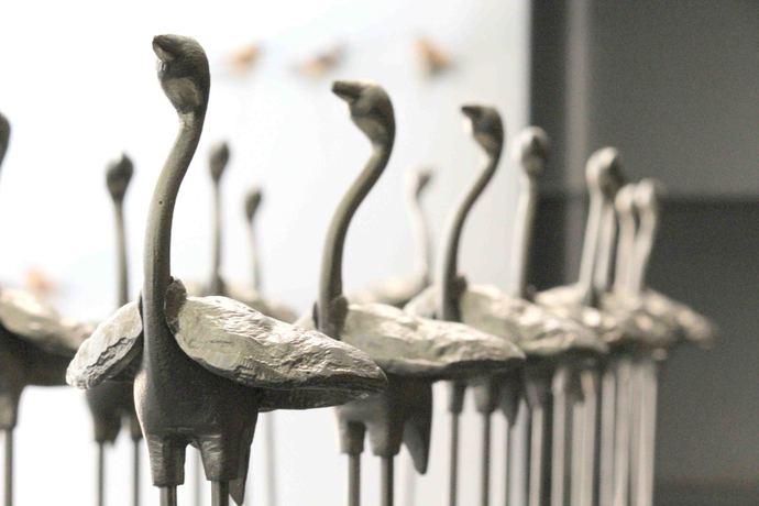 Flamingo Garden Decor By SITE art store