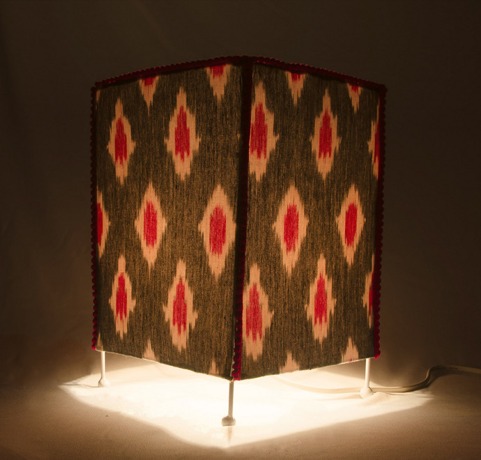 The Pink Glitch Table Lamp By Orunie Designs