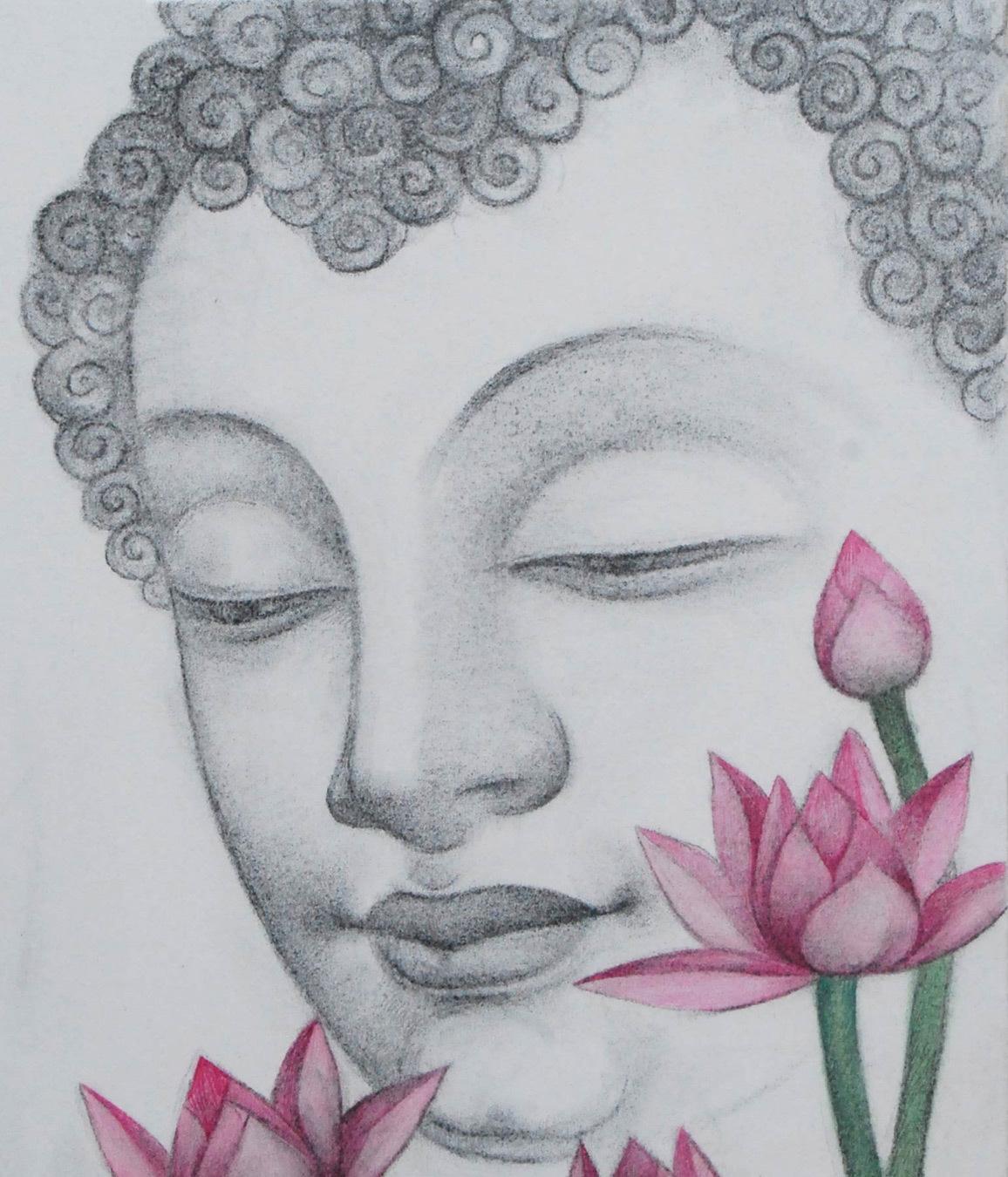 Bratin khan  buddha   detail 1