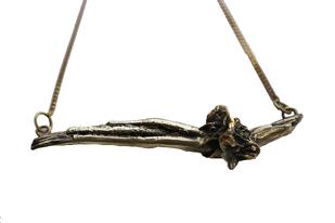 Epiphyte Flower Neckpiece by Tribling , Necklace