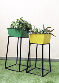 Milano Tray Tables (set of two) Decorative Container By Studio Earthbox