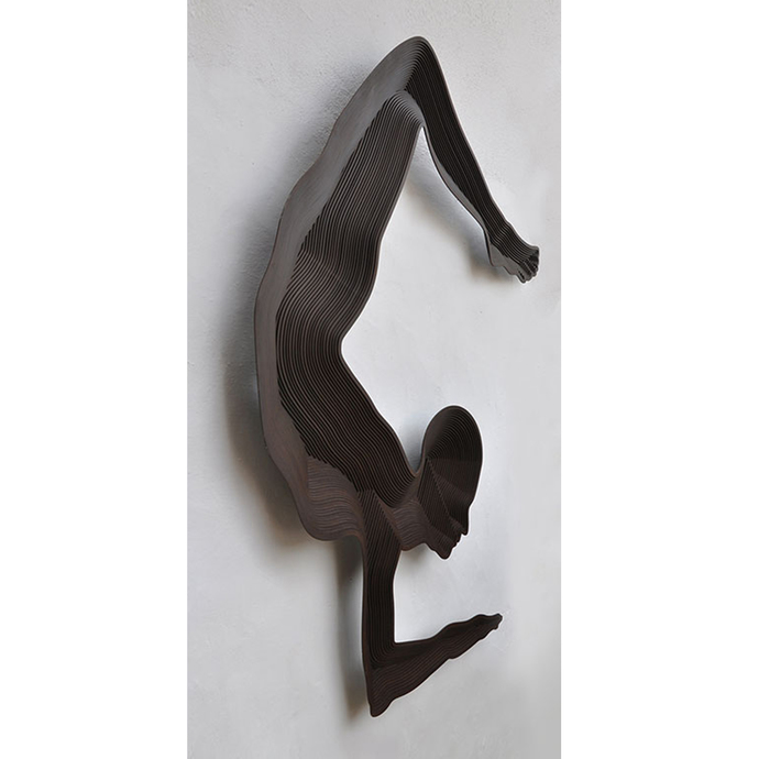 Untitled by Janarthanan R, Conceptual Sculpture | 3D, Iron, Gray color