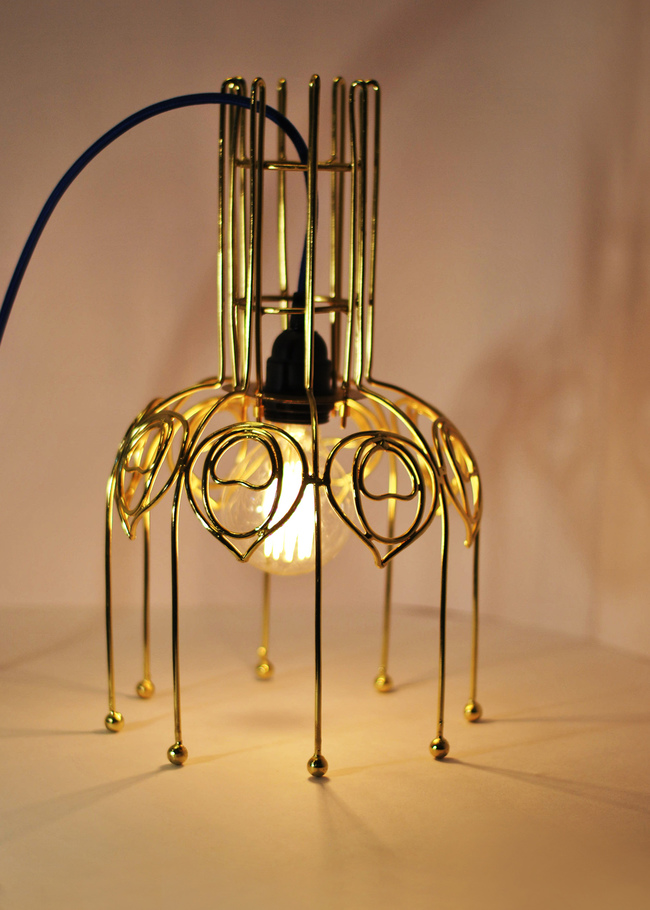 Peacock lamp by sahil   sarthak %285%29