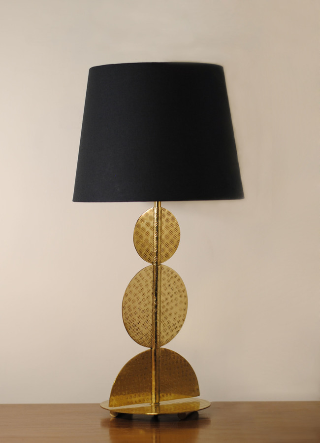 Harappa table lamp by sahil   sarthak  unlit