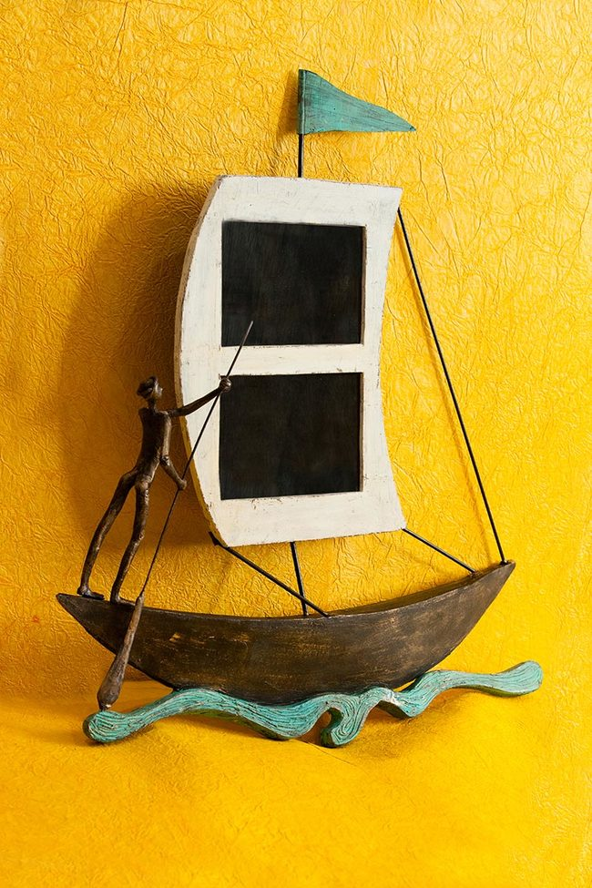Boat wall photoframe1