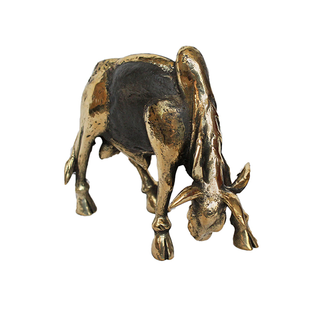 Charging Bull Artifact By Devrai Art Village