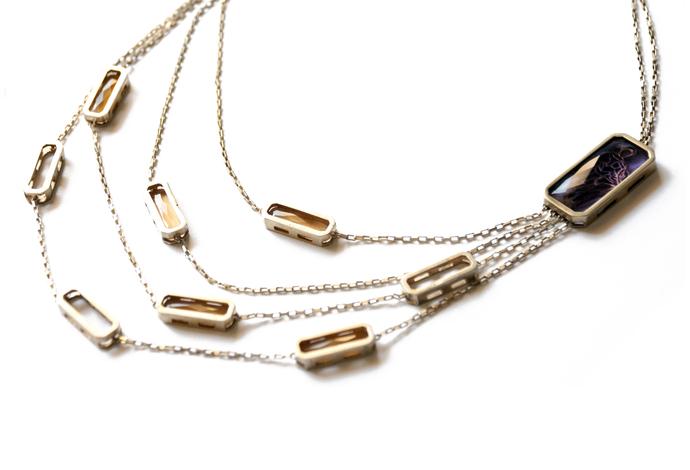 Devkanya Necklace by Nine Vice, Contemporary Necklace
