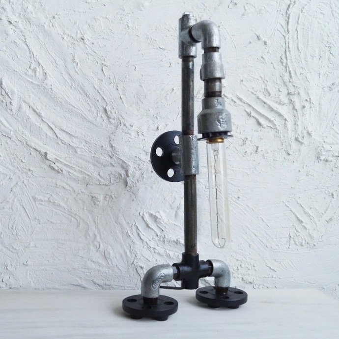 Robo Floor Lamp Industrial Table Lamp By The Black Steel