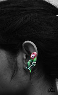 sny-e001 by Lasoii, Art Jewellery Earring