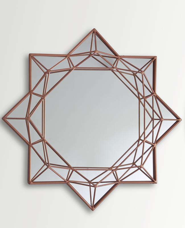 Round Brilliant Diamond Mirror Looking Mirror By The Lohasmith