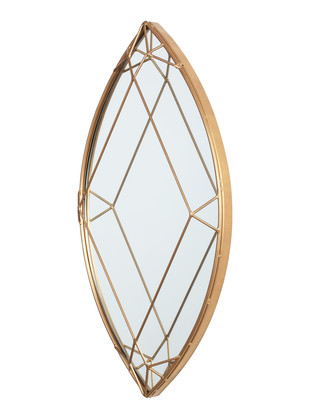 Marquise Cut Diamond Mirror Looking Mirror By The Lohasmith