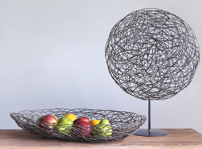 The lohasmith   twiggy centerpiece bowl   table sculpture